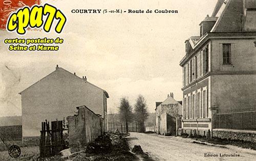 Courtry - Route de Coubron