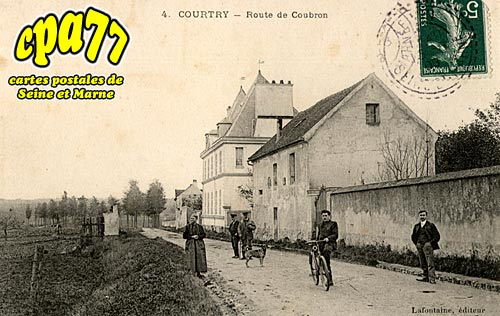 Courtry - Route de Coubron
