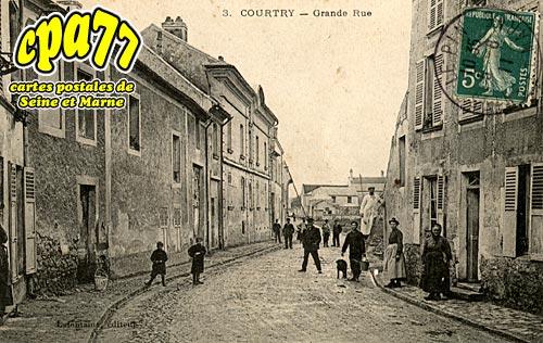 Courtry - Grande Rue (en l'état)