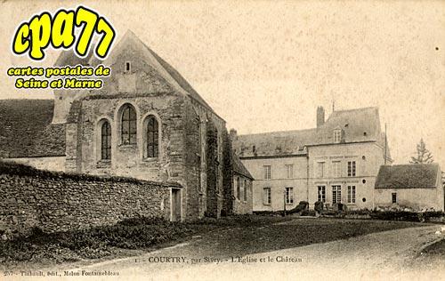 Sivry Courtry - L'Eglise et le Château