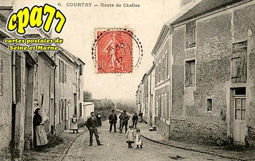 Courtry - Route de Chelles