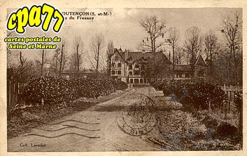 Coutencon - Château dr Fresnoy