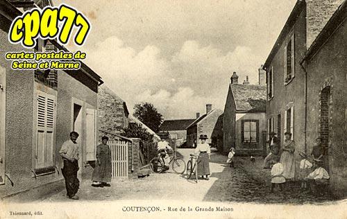 Coutencon - Rue de la Grande Maison