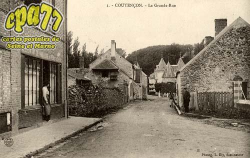 Coutencon - La Grande-Rue