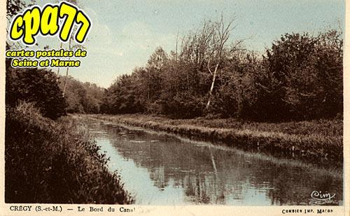Crégy Les Meaux - Le Bord du Canal