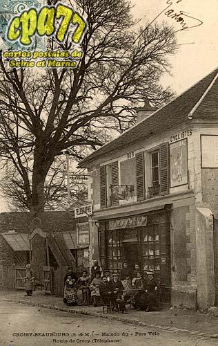 Croissy Beaubourg - Maison du Père Vélo - Route de Crécy (Téléphone)