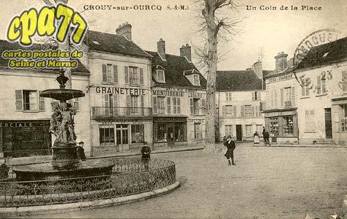 Crouy Sur Ourcq - Un coin de la Place