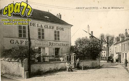 Crouy Sur Ourcq - Rue de Montanglos