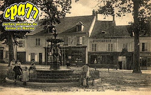 Crouy Sur Ourcq - Place du Marché