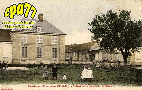 Cucharmoy - Plessis aux Tournelles - Entrée de la Ferme du Château