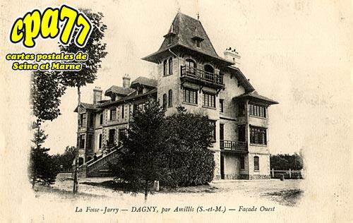 Dagny - La Fosse-Jarry - Façade Ouest