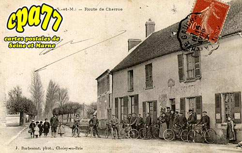 Dagny - Route de Cherrue
