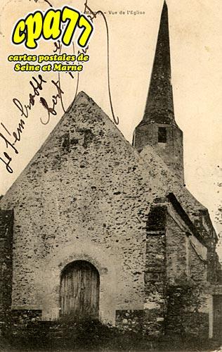 Dagny - Vue de l'Eglise