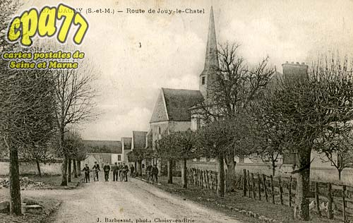 Dagny - Route de Jouy-le-Chatel