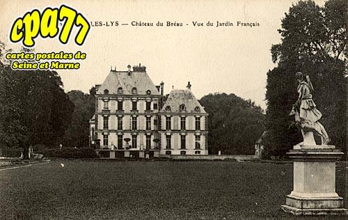 Carte postale ancienne de dammarie les lys 77 ch teau du br au vue du j - Chateau dammarie les lys ...