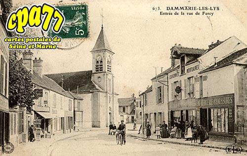 Dammarie Les Lys - Entrée de la rue de Farcy