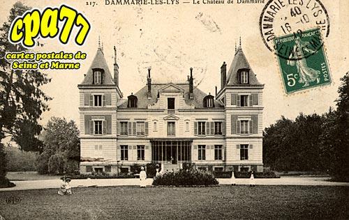 Carte postale ancienne de dammarie les lys 77 le ch teau de dammarie - Chateau de dammarie les lys ...