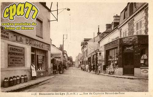 Dammarie Les Lys - Rue du Capitaine Bernard-de-Poret