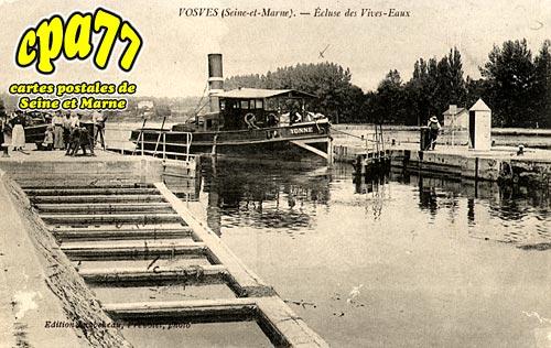 Carte postale ancienne de dammarie les lys 77 vosves for Garage des vives eaux dammarie les lys