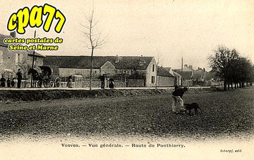 Dammarie Les Lys - Vosves - Vue générale - Route de Ponthierry