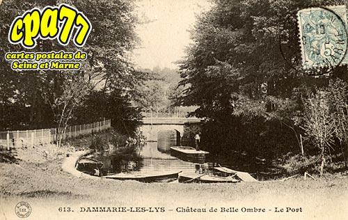 Dammarie Les Lys - Château de Belle Ombre - Le Port