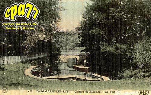 Dammarie Les Lys - Château de Bellombre - Le Port