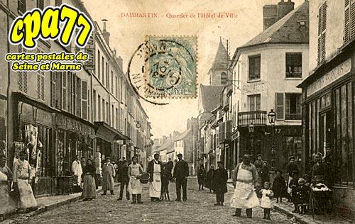 Dammartin En Goêle - Quartier de l'Hôtel de Ville