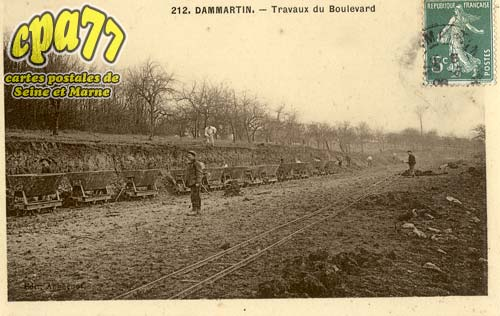 Dammartin En Goêle - Travaux du Boulevard