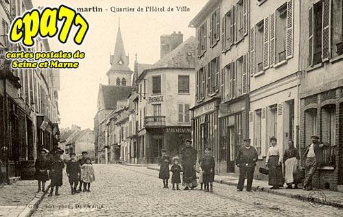 Dammartin En Goêle - Quartier de l'Hôtel-de-Ville