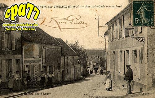 Dammartin Sur Tigeaux - Rue Principale vue en haut