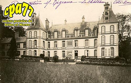 Dammartin Sur Tigeaux - Le Château (côté Nord)