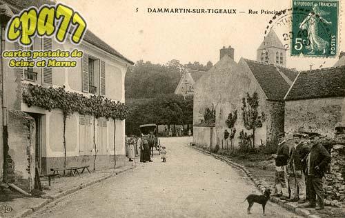Dammartin Sur Tigeaux - Rue Principale