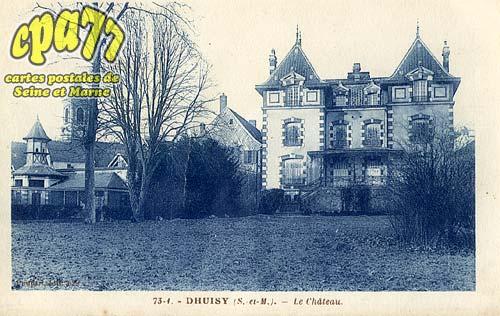Dhuisy - Le Château