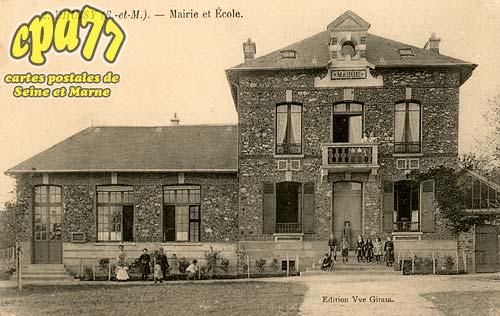 Dhuisy - Mairie et école