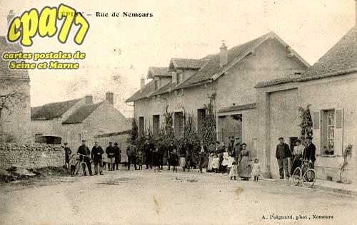 épisy - Rue de Nemours
