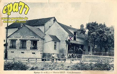 épisy - Maison Gelé - Café-Restaurant