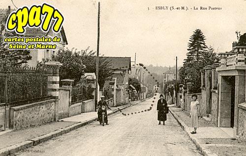 Esbly - La rue Pasteur