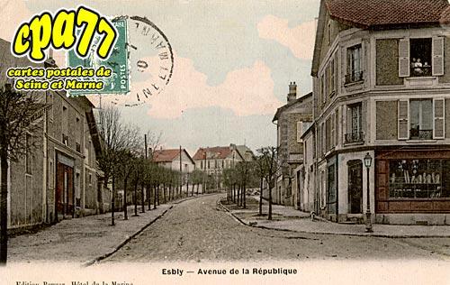Esbly - Avenue de la République