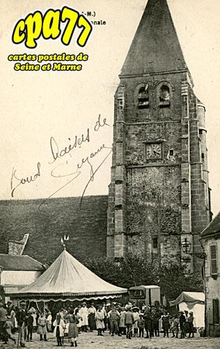 étrépilly - L'Eglise et la Fête Patronale