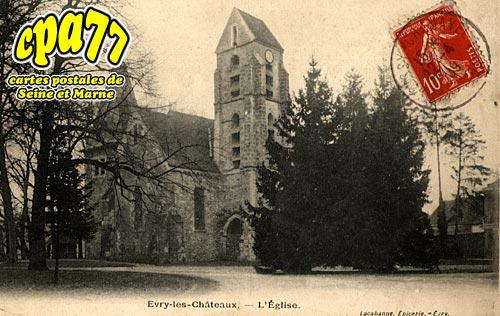 évry Grégy Sur Yerre - L'Eglise