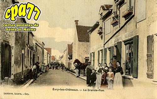 évry Grégy Sur Yerre - La Grande Rue