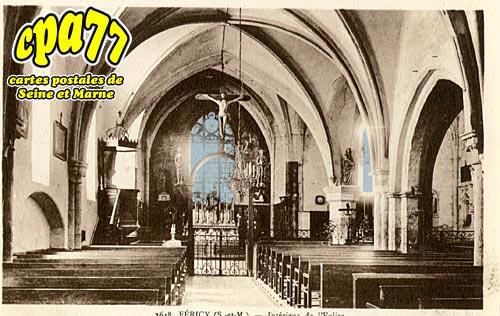 Féricy - Intérieur de l'Eglise