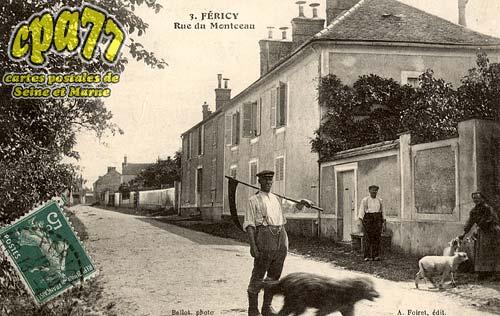 Féricy - Rue de Montceau