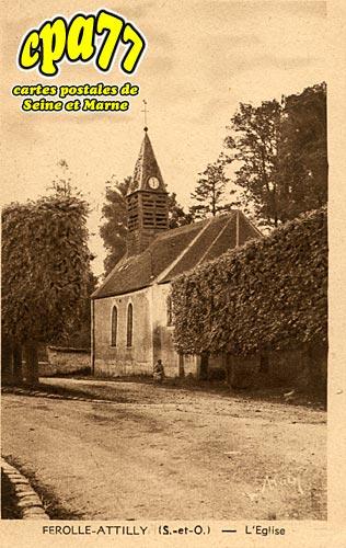 Ferolles Attilly - L'Eglise