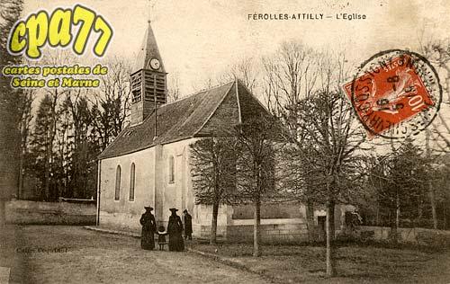 Ferolles Attilly - L'église