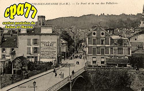 La Ferté Sous Jouarre - Le Pont et la rue des Pelletiers