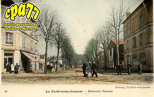 La Ferté Sous Jouarre - Boulevard Turenne