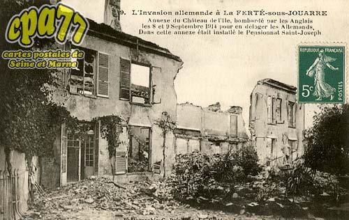 La Ferté Sous Jouarre - L'Invasion allemande à la Ferté-sous-Jouarre