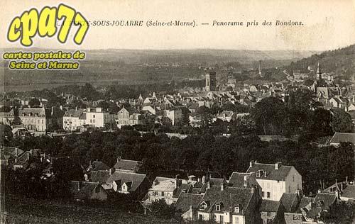 La Ferté Sous Jouarre - Panorama pris des Bondons