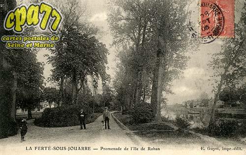 La Ferté Sous Jouarre - Promenade de l'Ile de Rohan